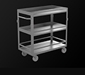 Stainless Carts, Cabinets, Platforms, and Stands